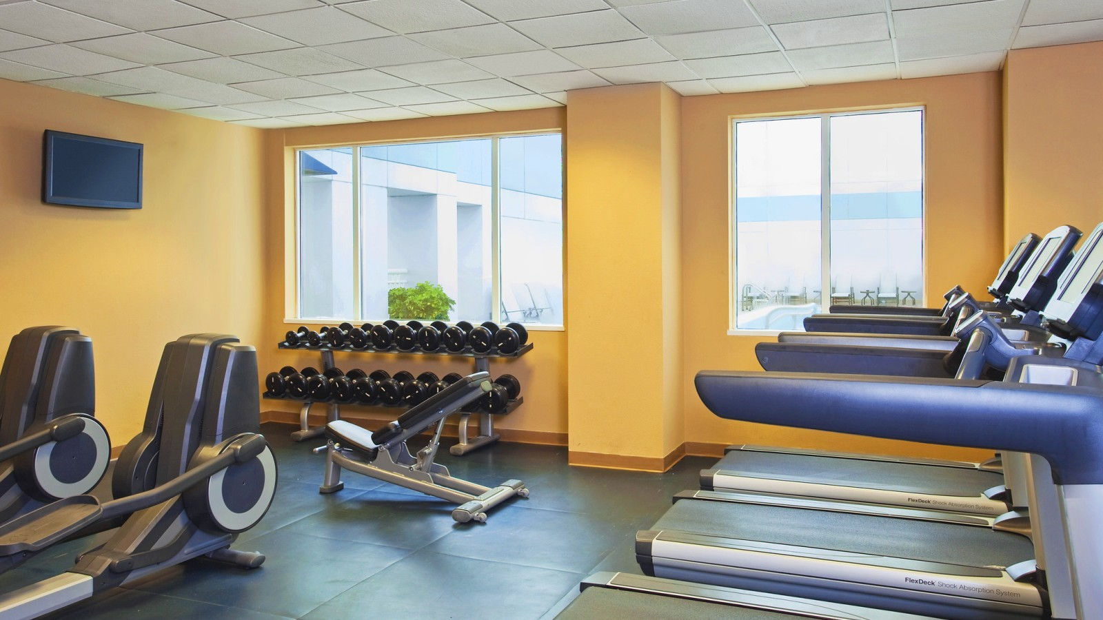Fitness Center at Sheraton Suites Fort Lauderdale Plantation