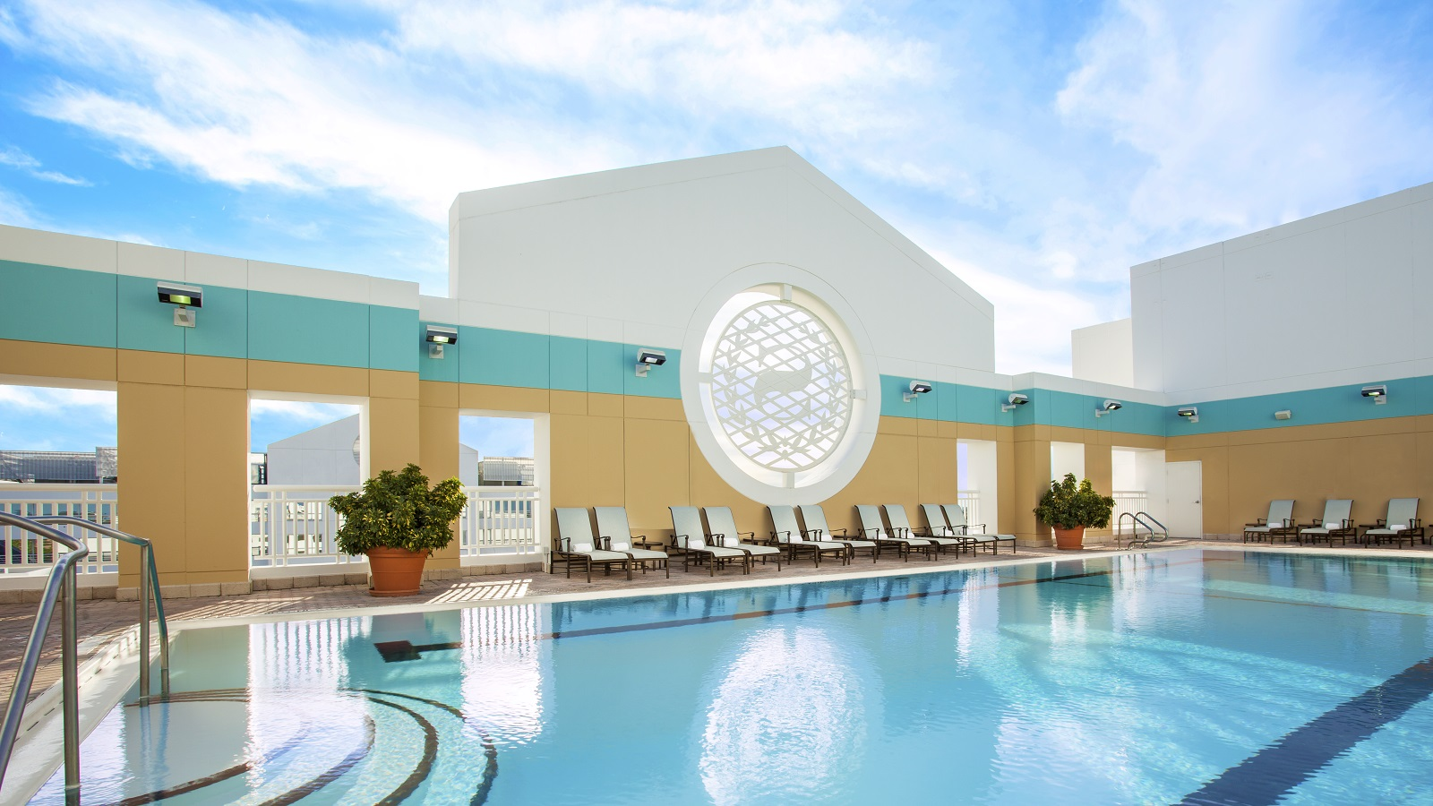 Sheraton Suites Fort Lauderdale Plantation Rooftop Pool